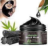 Black Mask, Blackhead Maske, Mitesser Maske, Schwarze Maske Gegen Mitesser, Bambus Holzkohle Peel Off Maske, Anti mitesser maske und Porenreinige, Tiefenreinigung Black face mask