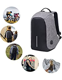 CP BIGBASKET Anti Theft Backpack Waterproof Business Laptop Bag With USB Charging Port For 14 Inch Laptop, Notebook...