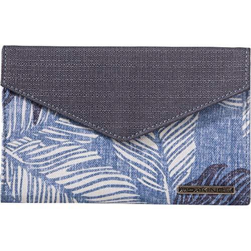 Tri-fold Clutch (Dakine Damen Geldbörse Clover Tri-Fold Wallet - blau - Einheitsgröße)