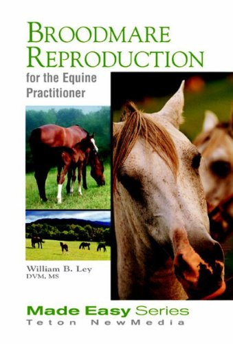 Broodmare Reproduction for the Equine Practitioner (Book+CD) (Equine Made Easy Series) (English Edition)