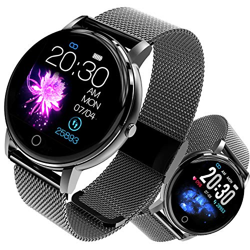 Smartwatch Fitness Tracker Android iOS Orologio Intelligente Impermeabile IP68 Activity Tracker...