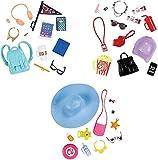 Die besten Mattel Schule Rucksäcke - Unbekannt Mattel Barbie Mode Accessoires, Sortiert, 1 Stück Bewertungen