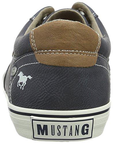 Mustang 4103-302-800, Baskets Basses Homme Bleu (800 dunkelblau)