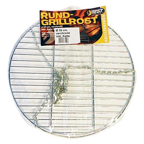 Best Sporting Grillrost rund 39 cm inkl. Aufhängungs-Kette