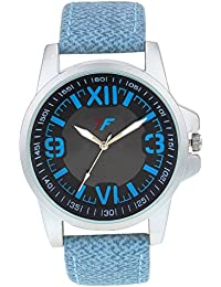 Optima - Fashion Track Men's Wrist Watch With Blue Leather Band Unique Casual Analog Quartz Watches Classic Wristwatch