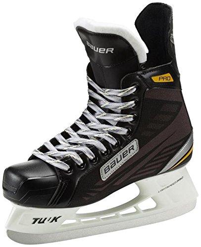Bauer Eishockey Schlittschuhe Supreme Pro Senior (Schlittschuh Größe : 10-45,5 EU Größe)