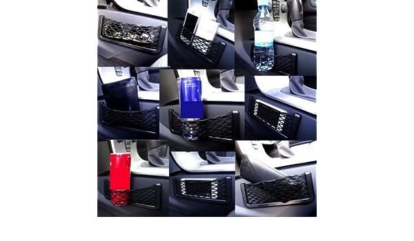 Ablagefach Ablagenetz Handyhalter Smartphone Ablage Getr/änkehalter Brillenhalter Etui Stauraum Haltenetz UNIVERSAL f/ür PKW LKW BOOT