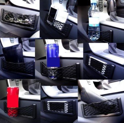 Ablagefach Ablagenetz Handyhalter Smartphone Ablage Getränkehalter Brillenhalter Etui Stauraum Haltenetz UNIVERSAL für PKW LKW BOOT