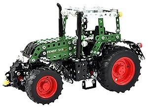 RCEE 10069 - Metal Construcción - controlado por Radio Tractor Fendt 313 Vario, Escala 1:24, RC 4 Canales, Verde
