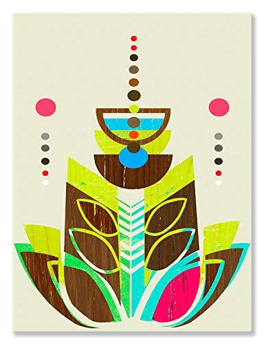Blume, Giclee Canvas Art (GreenBox Art + Kultur Leinwand Art Wand modernen Formschnitt III von Linda Ketelhut, 18von 24)