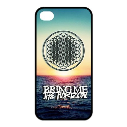 fayruz- 5S Cas, Bring Me The Horizon Coque en caoutchouc pour Apple iPhone 5/5S Coque rigide b-i5W465