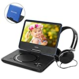 9.5 Inch Portable DVD Player for Kids with Swivel Screen