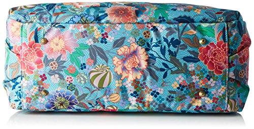 Oilily Damen Carry All Schultertasche, 17.5 x 32 x 41 cm Blau (Pool Blue)