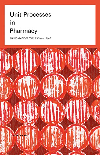 Filtration Unit (Unit Processes in Pharmacy: Pharmaceutical Monographs (English Edition))