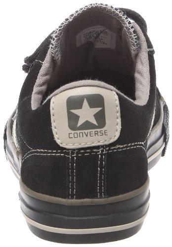 Converse Star Player 3V Ox, Baskets mode mixte enfant Noir/chocolat/ivoire
