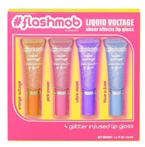 Flashmob Liquid Voltage Lip Gloss Case 4 Pz