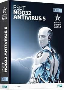 ESET NOD32 Antivirus 5 Gamer Edition - 1 PC / 1 Jahr