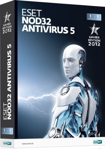 ESET NOD32 Antivirus 5 Gamer Edition – 1 PC / 1 Jahr
