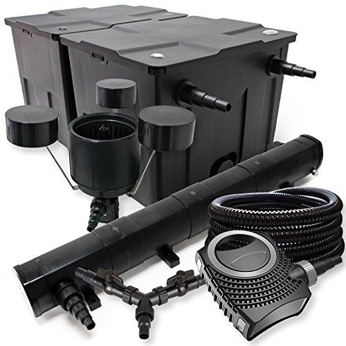 Sunsun filtro set per 60000l stagno 72 w laghetti neo8000 for Filtro per stagno