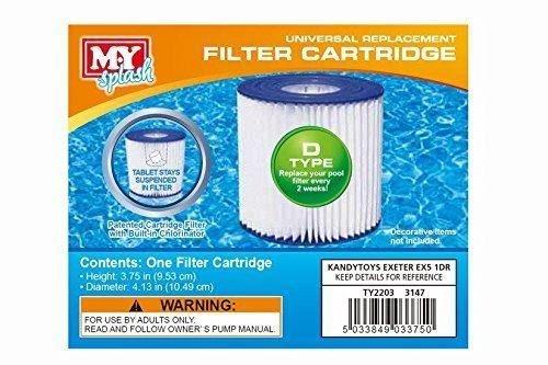 2-x-my-splash-type-d-filter-cartridge-swimming-pool
