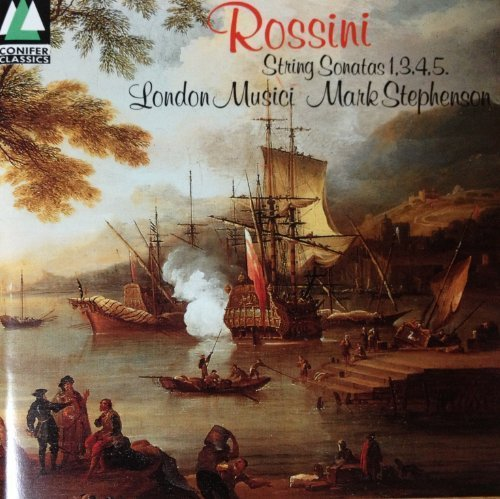 String Sonatas 1, 3, 4 & 5 by Rossini -
