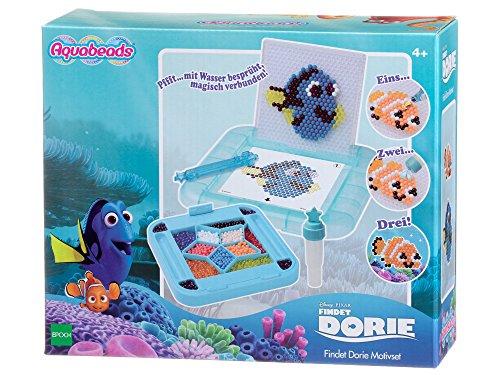 Aquabeads 30079 Findet Dorie Motiv Set Bastelset für Kinder