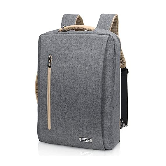 Lifewit Convertible Backpack 15.6 inch Laptop Shoulder Briefcase 3 in 1 Multi-Functional Messenger Bag with