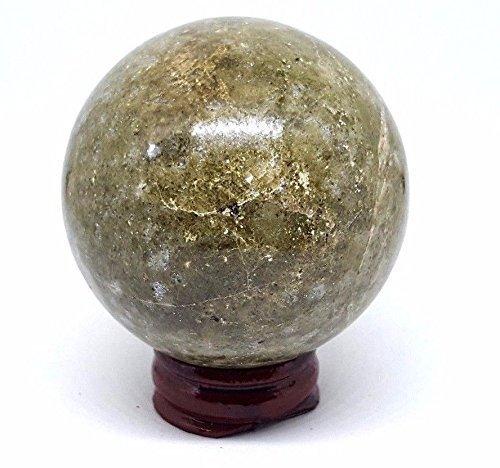 Rasen Jasper Kristallkugel Weissagung Wahrsagen 58mm 290g Sphäre