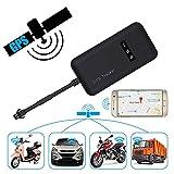 Mbuynow Auto GPS Tracker Echtzeit GPRS Verfolger Träger für Motorrad Fahrzeug Real Zeit GSM Lokator für Motorcycle Car Bike Anti Diebstahl Alarm