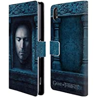 Official HBO Game Of Thrones Jaime Lannister Faces 2 Leather Book Wallet Case Cover For Sony Xperia Z2
