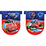 Pack 11 Banderines Con Forma Cars 2