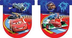 Guirlande Fanion Cars 2 Disney - Anniversaire Enfant - Décoration Anniversaire