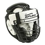Kenneth J Lane SPHINX Rejilla extraíble para casco, color negro, talla única–Casco Escluso