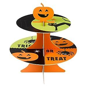 Neviti 596775Happy Halloween-Soporte para tartas
