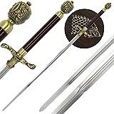 g8ds® Arya Stark Needle Schwert mit Wandhalterung Game of Thrones 80,5 cm