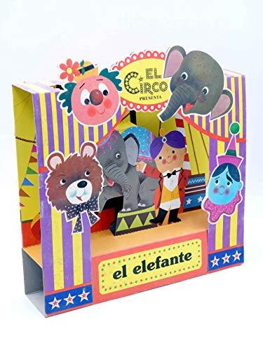 EL CIRCO PRESENTA Nº 1. El Elefante. Cuento Con Diorama