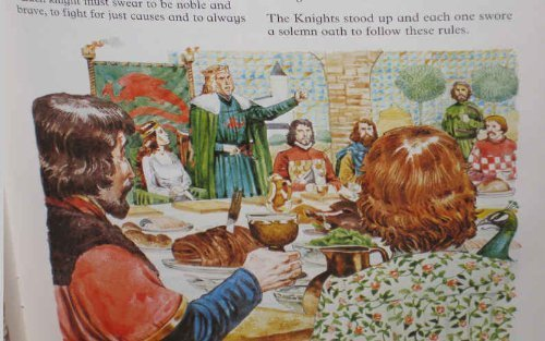 Portada del libro Adventures of King Arthur (Usborne Picture Classics) by Angela Wilkes (1981-09-02)