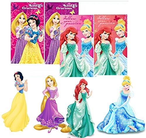 Disney Princess asciugamani, Panni viso, 35* 65cm (Confezione da)