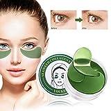 Seaweed Augenpads, Eye Mask, Eye Patch, Kollagen Eye mask, Anti-Aging Pads Entlasten Sie Müdigkeit und straffe Haut - Für Falten, Feine Linien, Augenringe and Tränensäcke Care -60 pcs