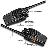 Walkie Talkie Set mit Headsets,Dpower Baofeng BF-888s Professionelle Funkgeräte 3KM Reichweite 16 Kanäle CTCSS/DCS 400-470MHz UHF Wiederaufladbar Sprechfunkgerät 2-Wege Radio mit Taschenlampe(2 pcs) für Walkie Talkie Set mit Headsets,Dpower Baofeng BF-888s Professionelle Funkgeräte 3KM Reichweite 16 Kanäle CTCSS/DCS 400-470MHz UHF Wiederaufladbar Sprechfunkgerät 2-Wege Radio mit Taschenlampe(2 pcs)