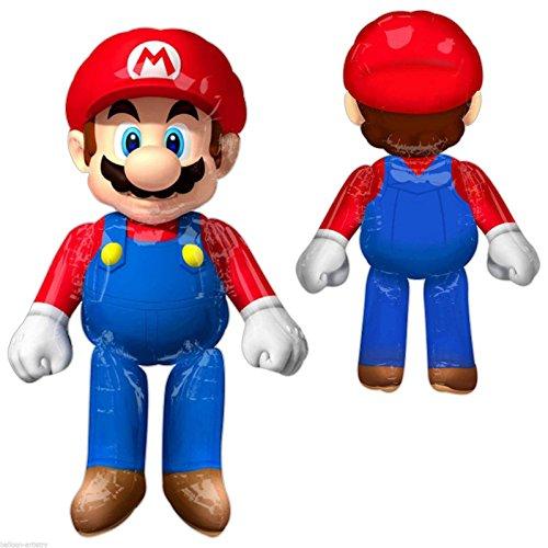 amscan 323170136x 152,4cm Super Mario Air Walkers (X-Large)