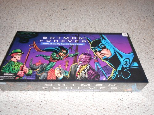Batman Forever; Battle at the Big Top 3-D Board Game by Parker Brothers by Parker Brothers (Batman Big Brother)