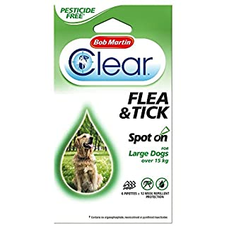 Bob Martin Spot On Flea & Tick Protection For Large Dogs Over 15kg 51zCwtRWz2L