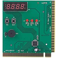4-stellige Karte PC Analyzer Computer Diagnose Mainboard POST Tester Diagnosekarte für PCI 0026 ISA