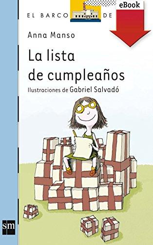 La lista de cumpleaños (Kindle) (Barco de Vapor Azul) por Anna Manso Munné