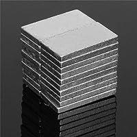 20 SUPER NEODYM QUADER MAGNETE 10x5x2 mm NdFeB N45 BLOCKMAGNETE BASTELN 1,2 KG