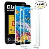 Galaxy S9/S8 Panzerglas Schutzfolie, [2 Stück] KENTY Panzerglasfolie für Samsung S9/S8, 9H Härtegrad, 3D Vollständige Ab