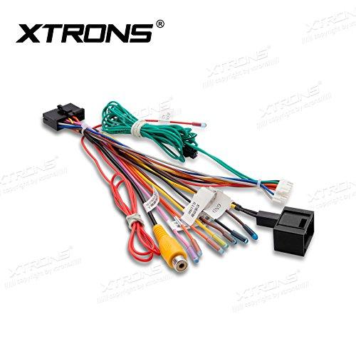 XTRONS ISO Kabelbaum Adapter Stecker Kabel Draht KFZ Stereo Radio für XTRONS Mercedes-Benz E/CLS Serien Radio-draht