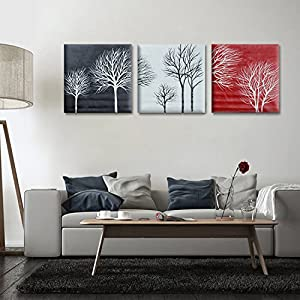 Gemälde Handgemalt Baum   Deine-Wohnideen.de