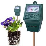 Best Tierra de jardín plantas de interior - Kuman S10Sensor de Humedad del Suelo Meter, higrómetro Review